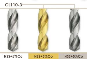 Сверла увеличенной длины с цилиндрическим хвостовиком Carmon CL110_3 DIN 1869-3