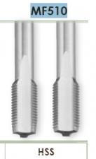 Метчики (комплект) для нарезания метрической прецизионной резьбы в сквозных и глухих отверстиях Carmon MF510 DIN 2181