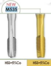 Метчик машинный по конструкционным сталям для метрической правой резьбы в сквозных отвестиях Carmon M535