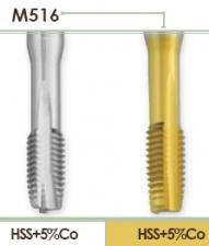 Метчик машинный по нержавеющей стали для нарезания правой метрической резьбы в сквозных отвестиях Carmon M516
