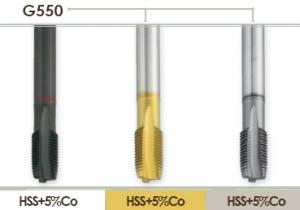 Метчик машинный для правой дюймовой резьбы в сквозных отвестиях Carmon G550