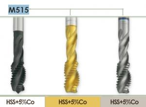Метчик машинный по аллюминию для нарезания метрической резьбы в глухих отверстиях Carmon M515