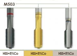 Метчик машинный для нарезания метрической резьбы для глухих отверстий Carmon M503
