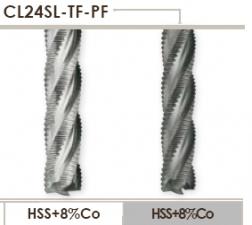 Мелкомодульная черновая концевая фреза Carmon CL24SLTFPF DIN 844/B