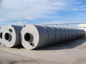 Силосы стальные для цемента, минерального порошка, комбикорма