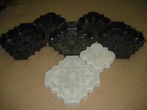 Пластиковые формы (брусчатка, тротуарная плитка).