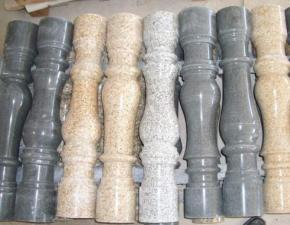 Балясины, перила, столбы из гранита