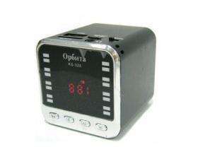 колонка MP3-плеер 328 (TF,USB,AUX, 2W,FM,аккум)