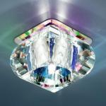 ТОЧЕЧНЫЙ СВЕТ - SD8048 G4 хром/перламутр (СH/Colourful)