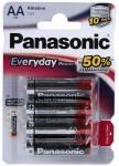 Panasonic LR6 Everyday блистер-4
