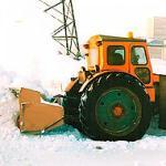 Снегоочиститель шнекороторный механический модернизрованный для задней навески
