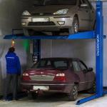 Парковка двухуровневая, двухстоечная, г/п 3 тонны NORDBERG NB-3