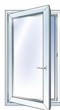 Недорогие пластиковые окна 650*750
