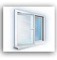 Металлопластиковые окна 1100*1300
