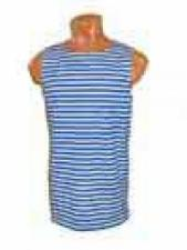 Майка мужская безрукавная (кулирка, размеры 42-60, артикул Б-2)