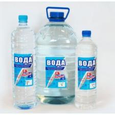 Дистиллированная вода в бутылках 1.5л, упаковка 8шт