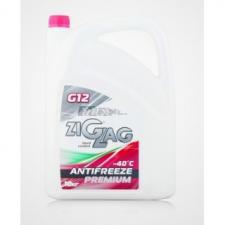 Антифриз G12 ZIGZAG Premium -40 (красный), Без упаковки, 1кг(оптом)