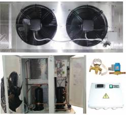 Холодильные машины на базе спиральных компрессоров Copeland