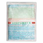 Хлорамин Б пакеты по 300г (мешок 15 кг)