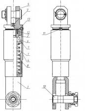 Вертлюг-амортизатор 5; 10; 20; 35 т.