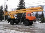 Автовышка ВС-22.06 на шасси КамАЗ-4326