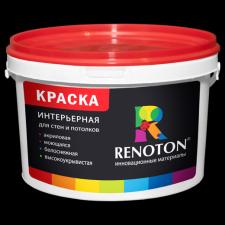 Краска «Renoton» интерьерная супербелая профессиональная (ведро 14 кг)