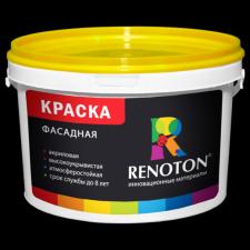 Краска «Renoton» фасадная профессиональная (ведро 2.5 кг)