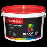 Грунтовка «Renoton» Бетон-контакт фр. 0,2/0,5 мм (ведро 14 кг )