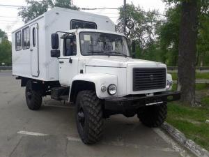 Вахтовый автобус ГАЗ-33081 Садко 15 или 20 мест, двигатель ЯМЗ-53442, ММЗ Д-245
