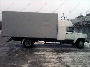 Европлатформа с закабинным спальником ГАЗ-3309