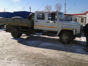 Егерь ГАЗ-3309 бортовой со сдвоенной кабиной