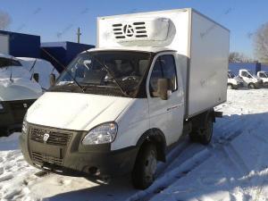 Изотермический фургон ГАЗ-3302 Газель