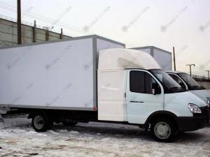Изотермический фургон ГАЗ-3302 Газель с закабинным спальником