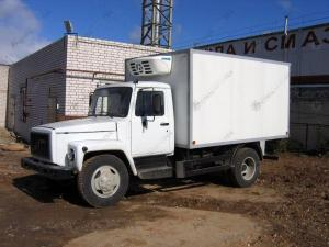 Изотермический фургон ГАЗ-3309