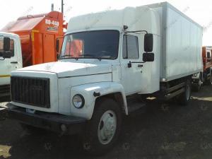 ГАЗ-3309 с закабинным спальником и изотермическим фургоном