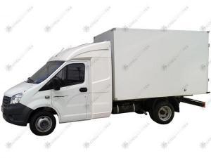 Изотермический фургон ГАЗ-A21R22 Газель Некст с закабинным спальником