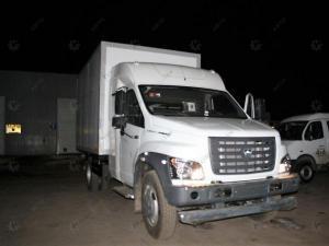 Изотермический фургон ГАЗ-C41R13 Газон Некст с закабинным спальником