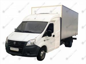 Промтоварный фургон ГАЗ-A21R22 Газель Некст с закабинным спальником