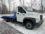 Эвакуатор Газон Некст ГАЗ-C41R13 с ломаной платформой двигатель ЯМЗ-53441