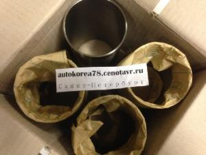 Гильза hyundai Hd 72 78County Mighty D4DD D4AL 4шт к-т