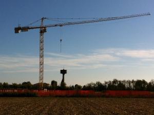 Башенный кран QTZ 160, 10 тонн, 60 метров