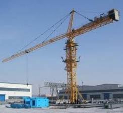 Башенный кран QTZ 250, 12 тн, 70 м, Китай