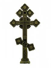 Литой надмогильный крест
