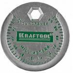 Измеритель зазора свечи KRAFTOOL с градуировкой 0.4-2.6мм