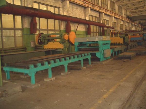 Листоправильный стан МЛЧ 1725 (22х1700, 25х1000, 30х600, 40х450) производства Черниговский механический завод