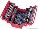 Набор инструментов универсальный, раскладной ящик, 62 предмета KING TONY 902-062MR