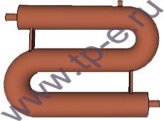 Регистр отопления змеевиковый