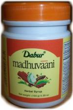 Мадхуваани-средство от кашля (Dabur Madhuvaani)150гр