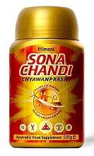 Чаванпраш Сона Чанди с золотом, серебром и шафраном 450гр Chyawanprash Sona Chandi