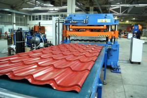 Комплексное оборудование для производства металлочерепицы, элементов кровельных систем, водостоков